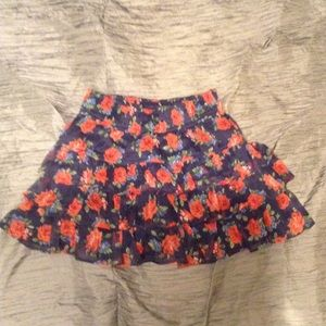 Abercrombie & Fitch Girls L floral mini